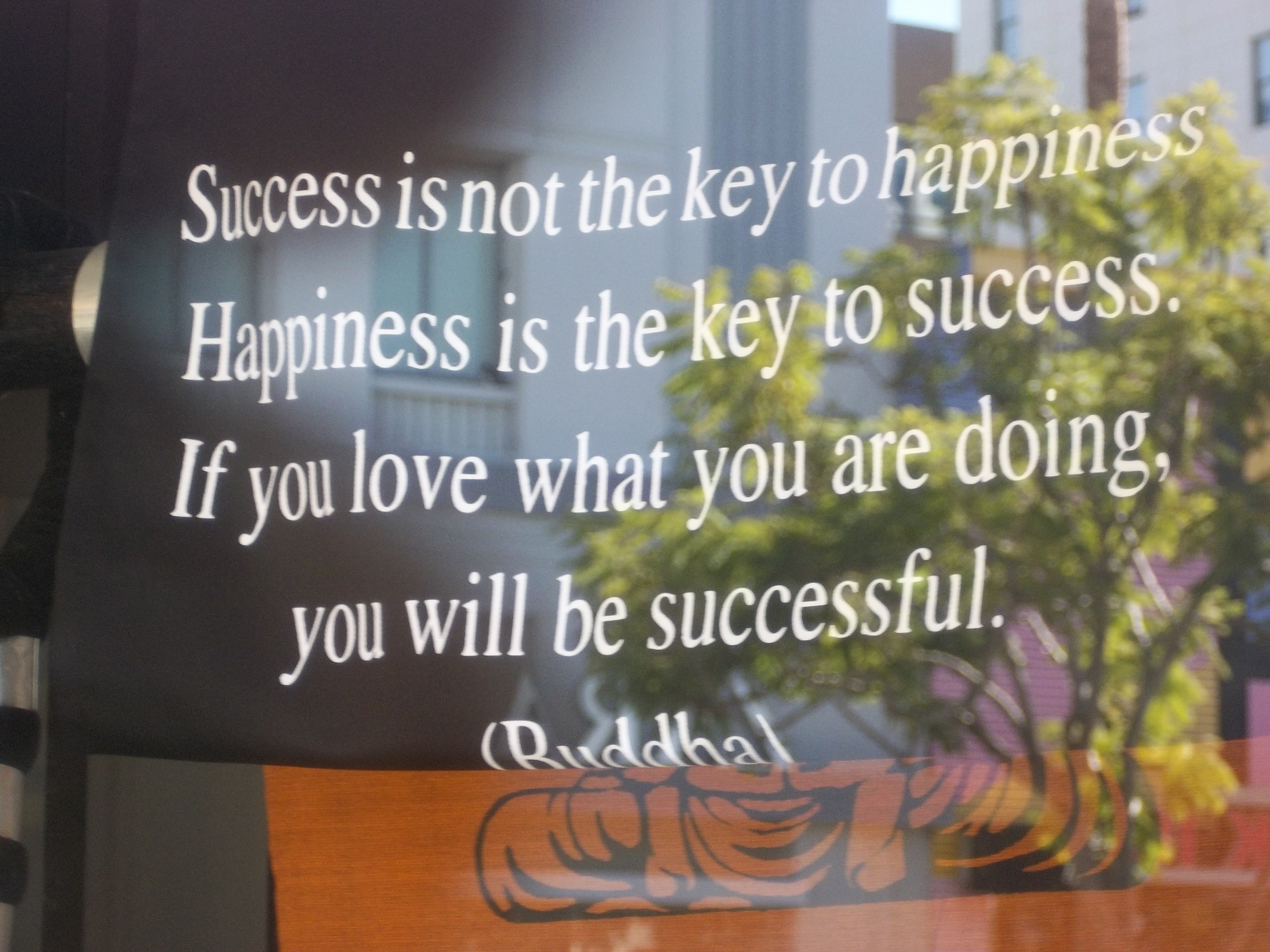 happinesss is success The happiness equation and over one million other books are available for  is  not to do great things and achieve great success that will lead to happiness but.