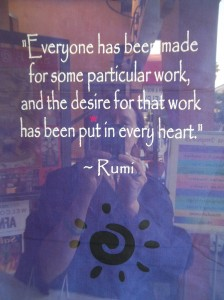 Rumi-Desire for Work