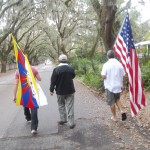 Step by Step Walking for Tibet & World Peace